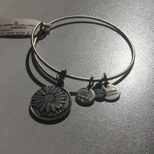 New Alex & Ani Silver charm bracelet.